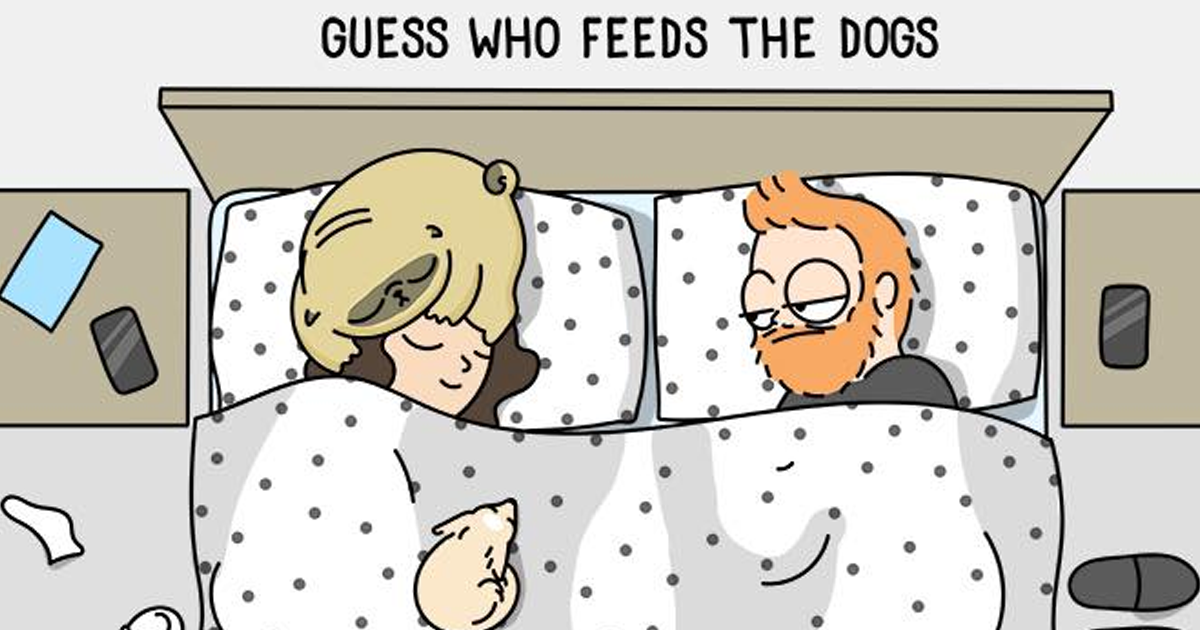 Adorable Comics That Hilariously Sum Up What It's Like Living With A Dog (New Pics)