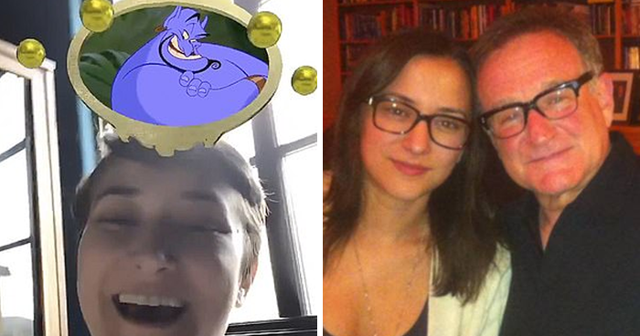 Robin Williams' Daughter Gets Genie, Her Dad's Famous Role, In 'Which Disney Character Are You' Instagram Filter