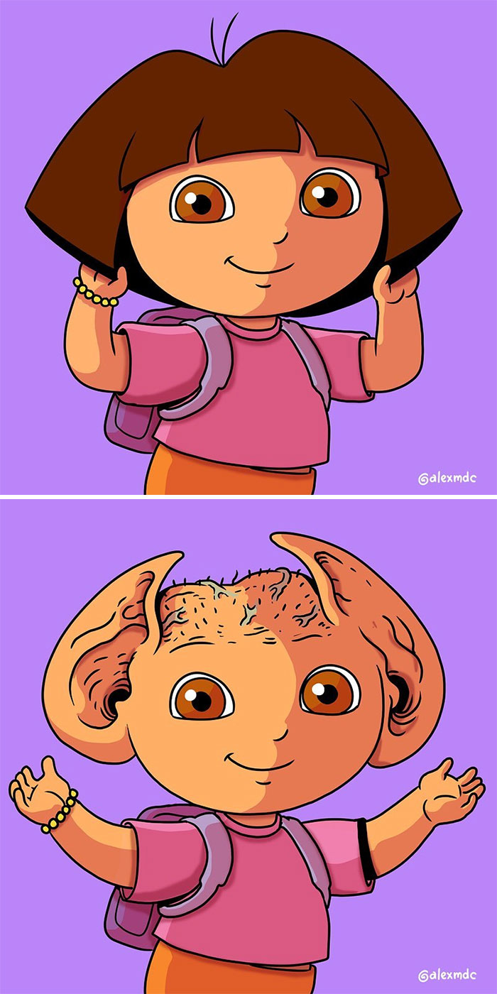 Ruined-Childhood-Illustrations-Unpopular-Culture-Alex-Solis