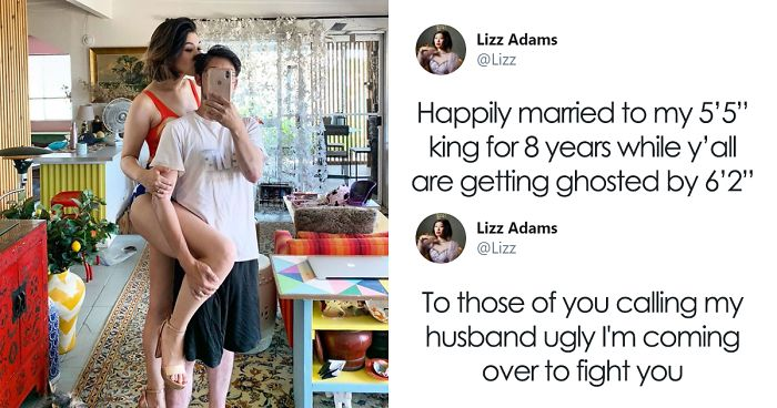 Women Are Sharing Pics Of Their Shorter Husbands After This Woman's Tweet Goes Viral