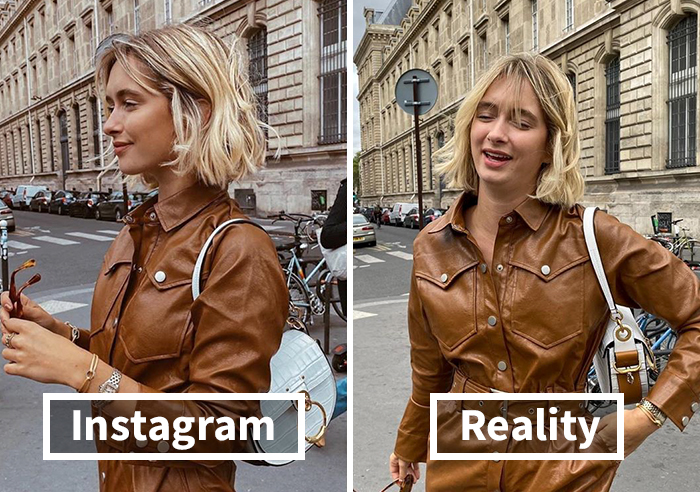 Woman Has Nothing To Hide, Reveals How Fake Her Instagram Photos Really Are (30 Pics)