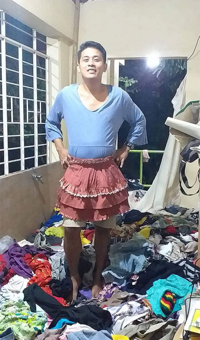 Taal-Volcano-Evacuation-Filipinos-Donated-Clothes-Positive
