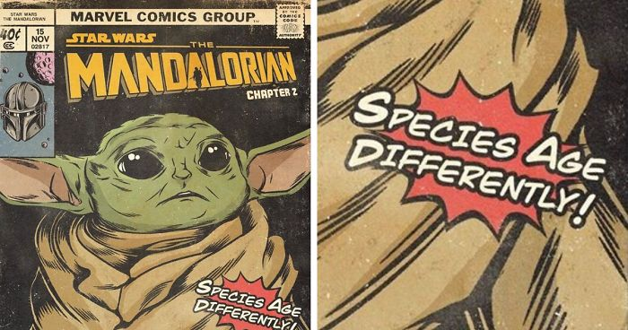 Russian Illustrator Recreates All Episodes Of The Mandalorian As Vintage Comic Book Covers