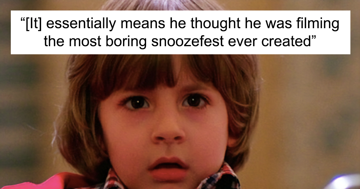 "Turns Out The Child Actor Playing Danny In ""The Shining"" Had No Clue They Were Filming A Horror Movie"