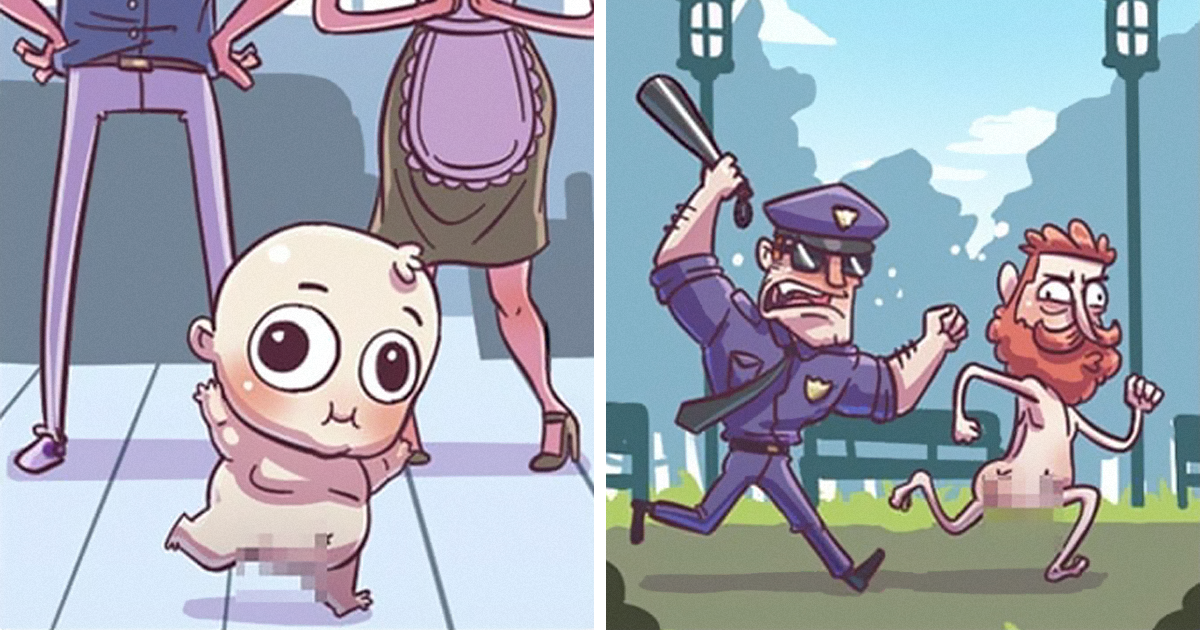 5 Comics About The Things Babies Can Do That You Can't By Respawn