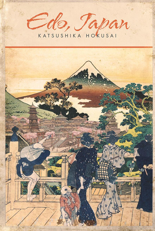 Katsushika Hokusai X Edo (Tokyo), Japan