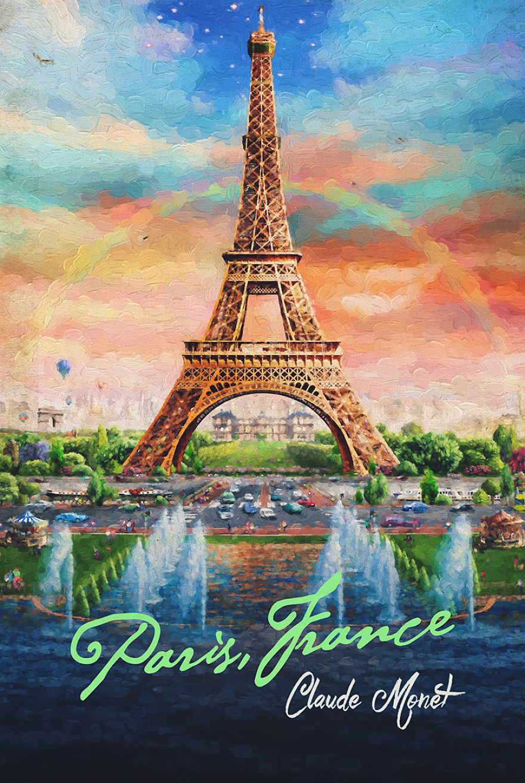 Claude Monet X Paris, France