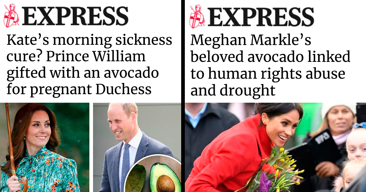 15 Headlines Show How Differently The British Press Treat Meghan Markle Vs Kate Middleton