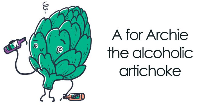 I Create Alphabetical Illustrations To Show Quirky Vegetable Personalities (25 Pics)
