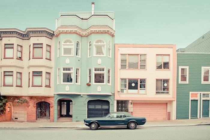 Dreamy Streets Of San Francisco