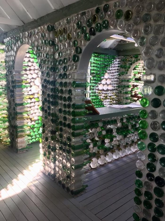 """This House Made Of Glass Bottles"""