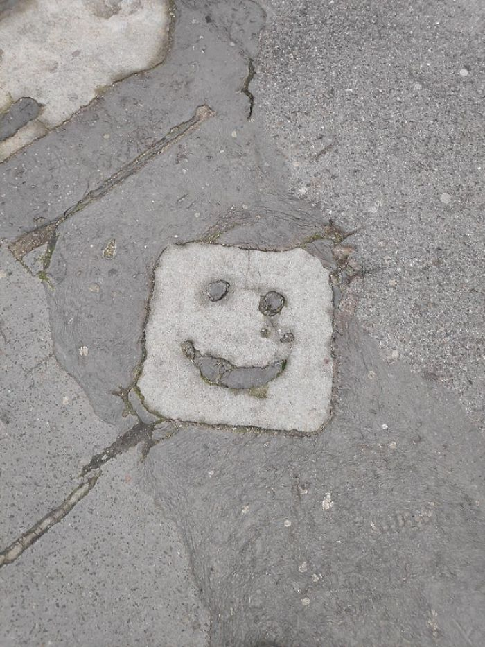 """This road is smiling to us!"""