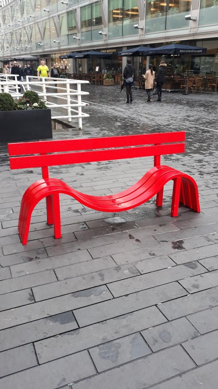 """This bench in London"""