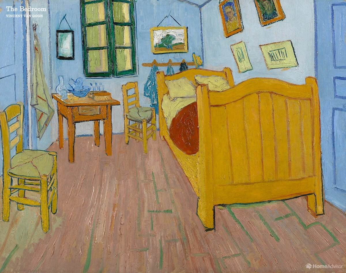 Designers Show What 6 Famous Painting Rooms Would Look Like If They Existed In Real Life