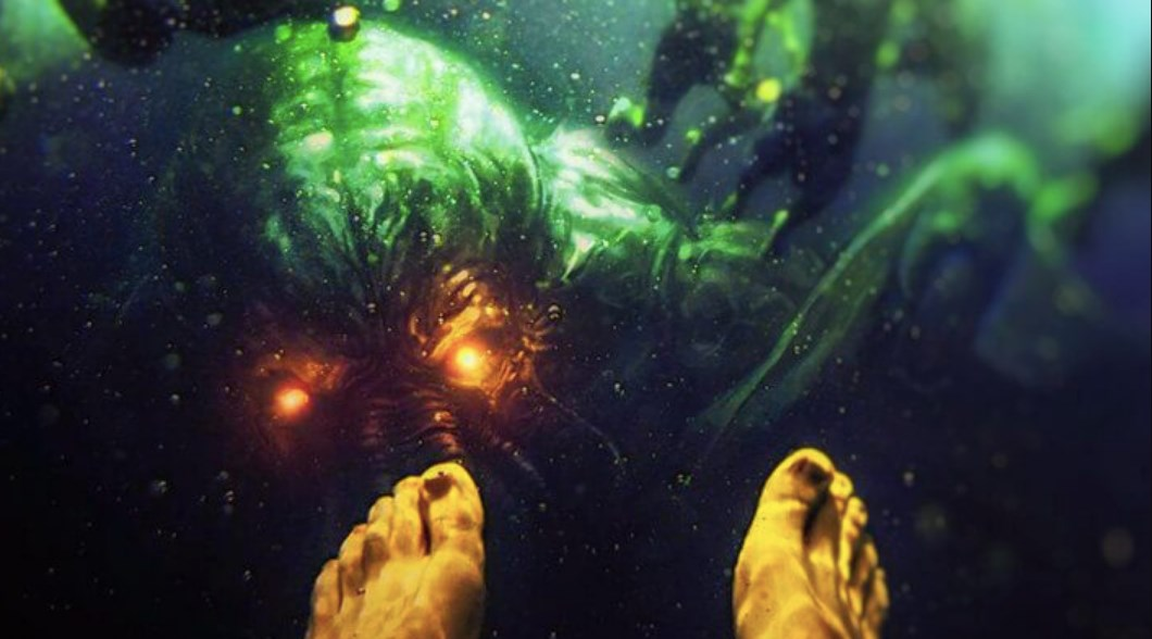 RUSSIA'S DEEP LAKES ARE POPULATED BY A RACE OF GIANT UNDERWATER HUMANOIDS