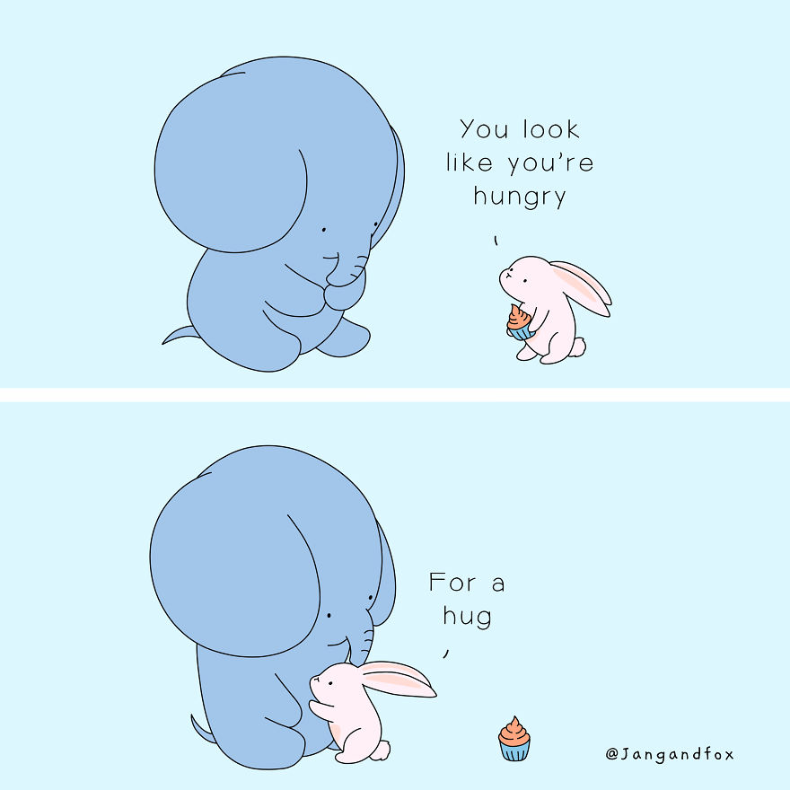 Love Is Being Hug-Gry