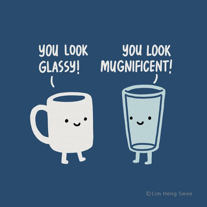 Glass And Mug