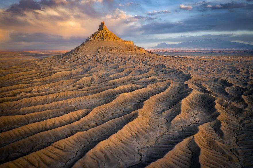 Badlands, Utah, USA By David Swindler