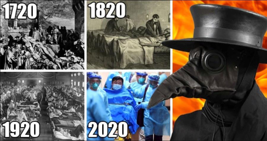 1720 Plague, 1820 Cholera, 1920 Spanish Flu, 2020 Chinese Coronavirus. What's happening