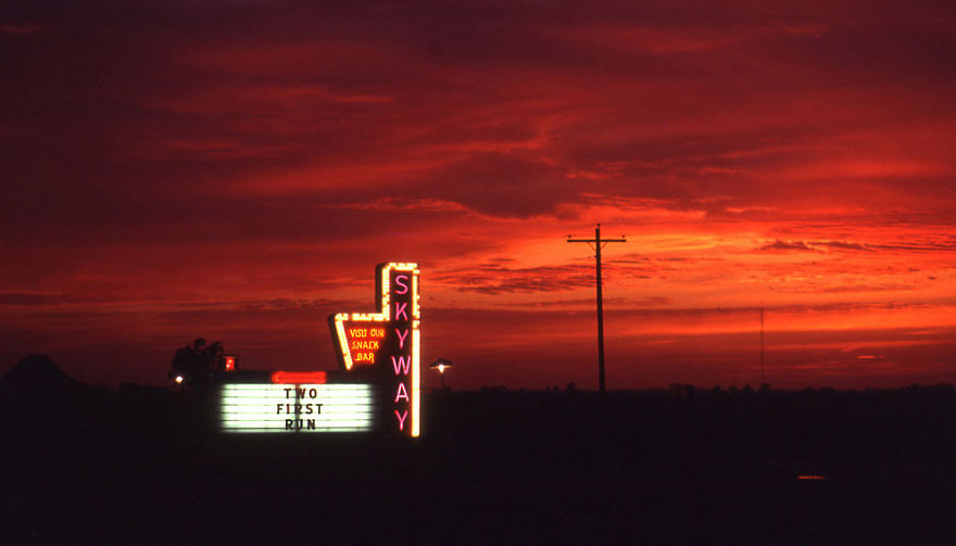 Drive In Theater, Mattoon, Illinois
