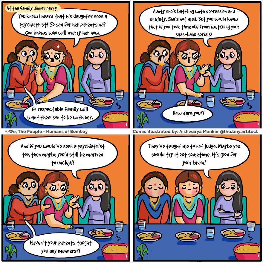Gossiping Aunties Got Schooled