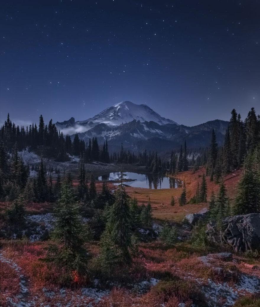 Mount Rainier, Washington, USA By Greg Boratyn