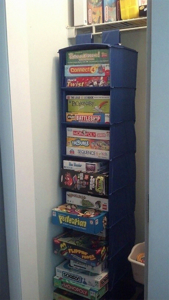 Perfect Solution To Fit All The Boardgames