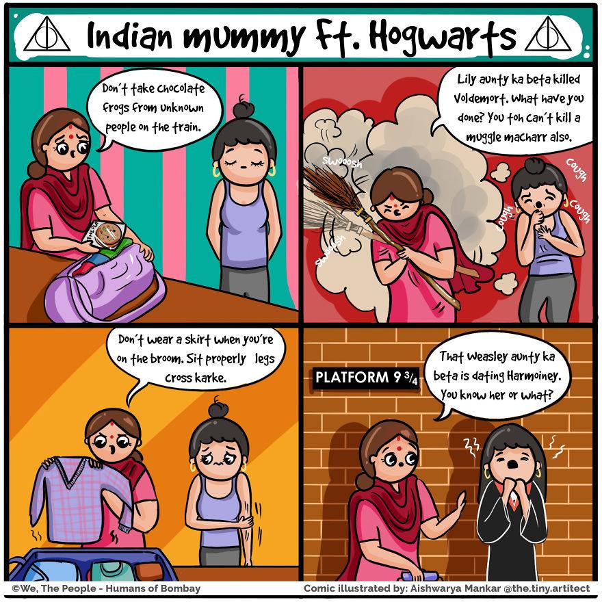 Indian Mummy Ft Hogwarts