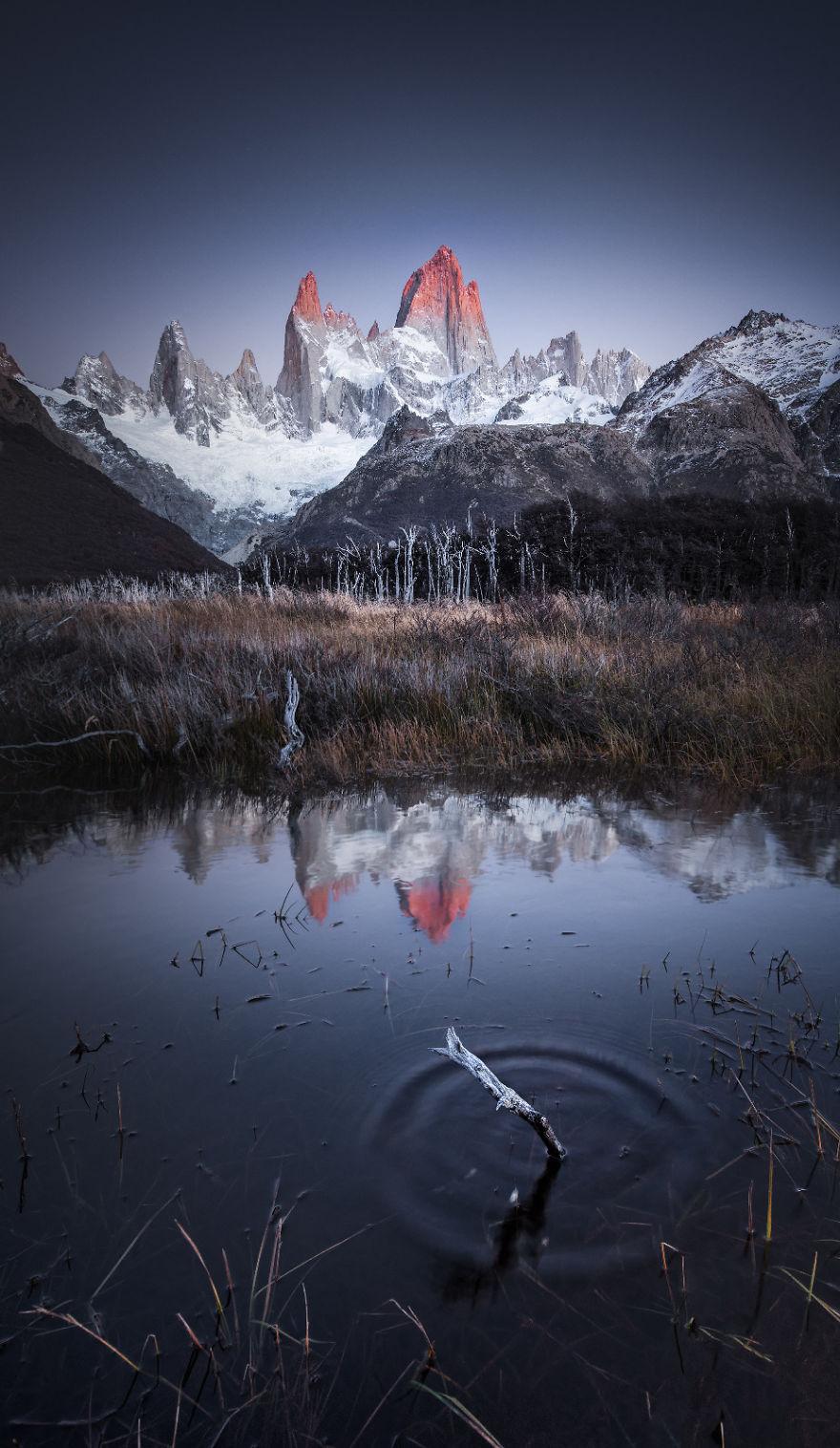 Monte Fitz Roy, Patagonia, Argentina By Yuekai Du