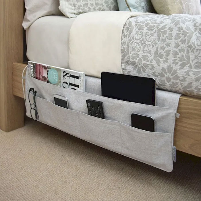 No Place For A Bedside Table? No Problem