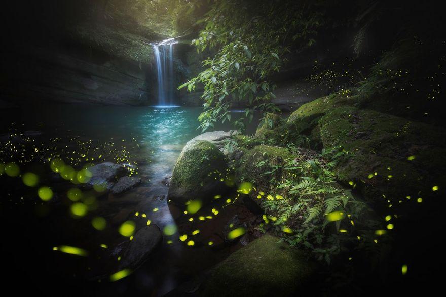 Wangu Falls, Northern Taiwan By Kuo Zei Yang