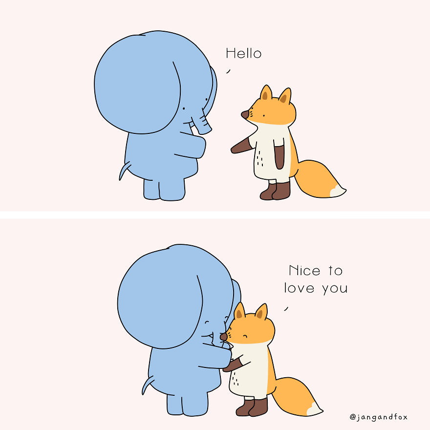 Love At First Handshake