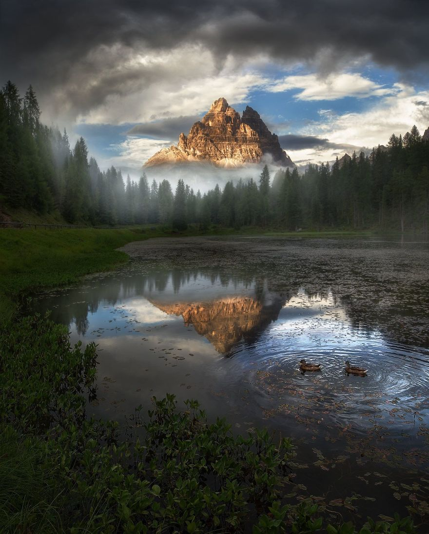 Antorno Lake, Dolomiti, Italy By Miller Yao