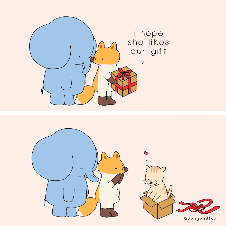 Love Is Getting A Gift You Like