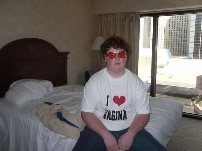 Me At 17(2010) Living It Up In Vegas