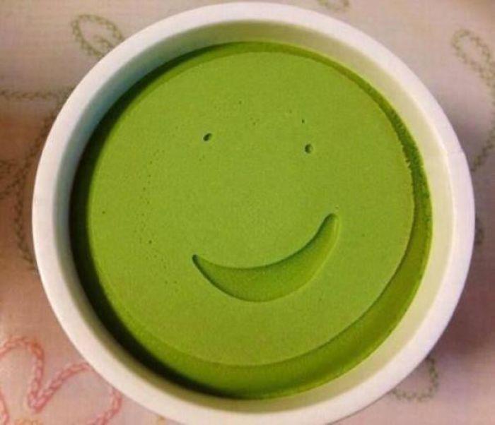 This Ice Cream Is Very Happy