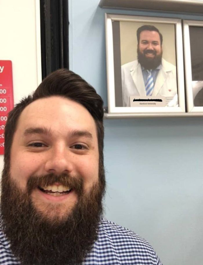 When You Go To Get A Flu Shot And The Pharmacist Is Your Doppelganger