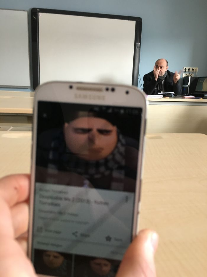 My Teacher Looks Like Gru From Despicable Me