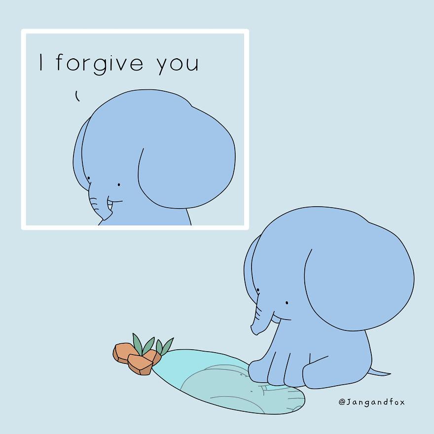 Love Is Forgiving Myself As I Forgive You