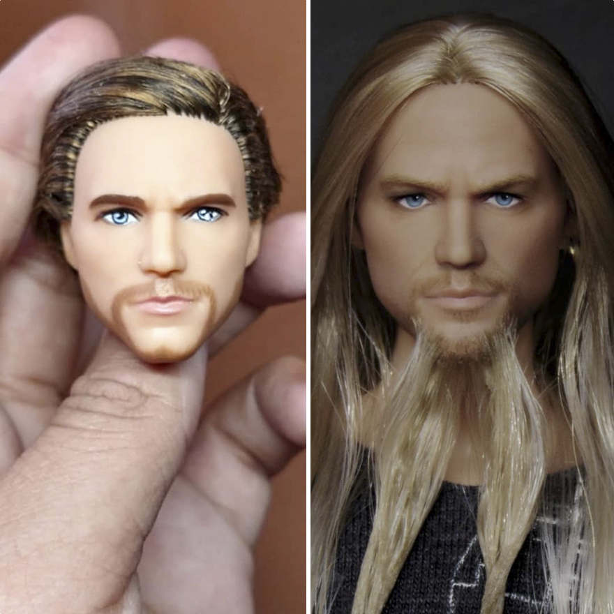 These 60 Celebrity Dolls Were Repainted By A Mexican ...