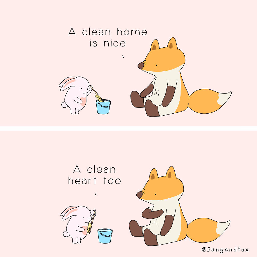 Love Is Having A Clean Home And Heart