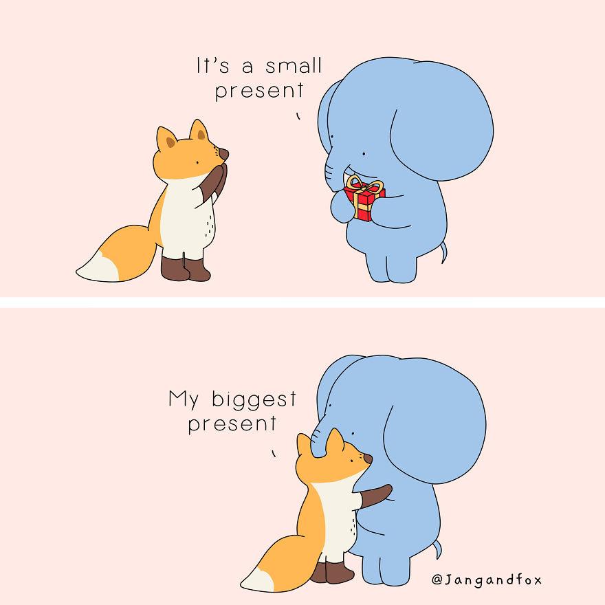 Love Is A Big Present