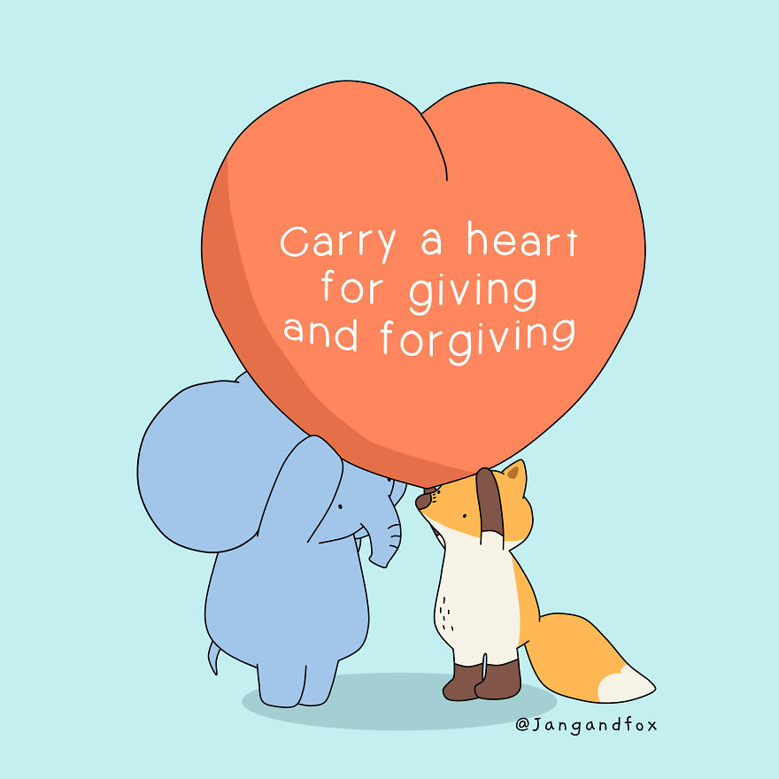 Love Is For Giving And Forgiving