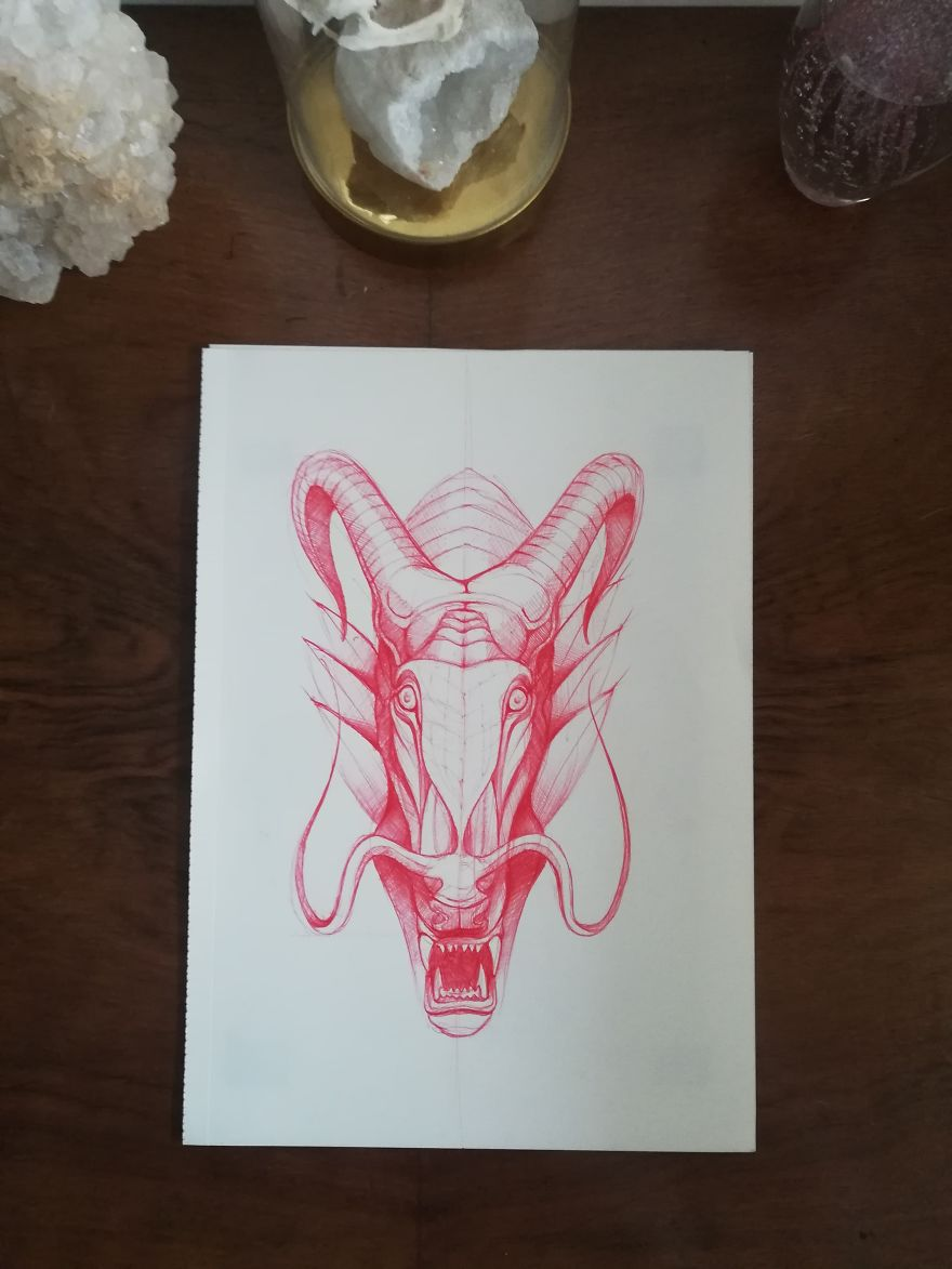 My Black And Red Sketches