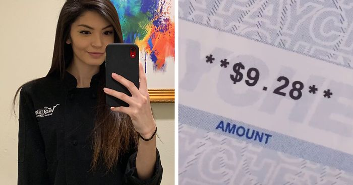 Mom Shares A Tiktok Of Her 9 28 Paycheck After Working For 70