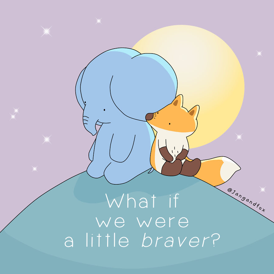 Love Is Getting A Little Braver Everyday
