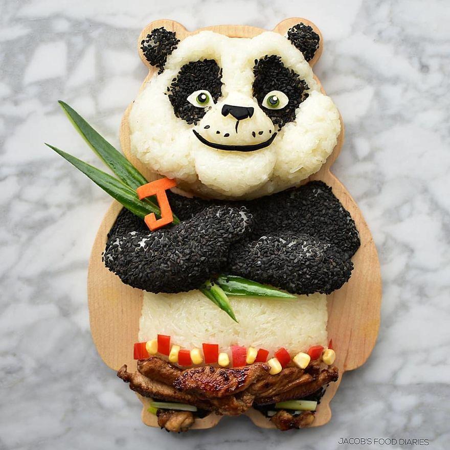 "Po From ""Kung Fu Panda"""