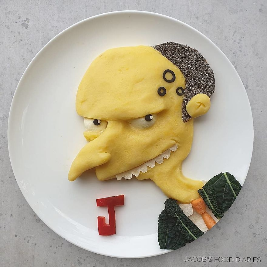 """Mr. Burns From """"The Simpsons"""""""