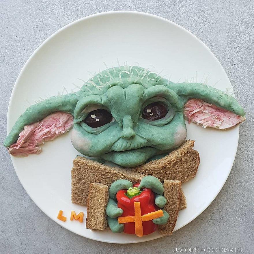 """Baby Yoda From """"The Mandalorian"""""""