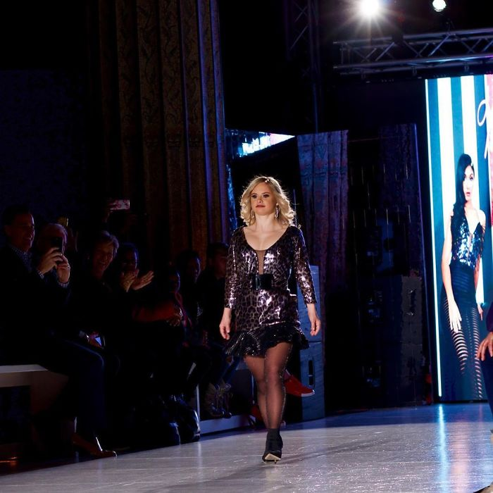 People Are Celebrating This Model With Down Syndrome Who Just Rocked New York Fashion Week
